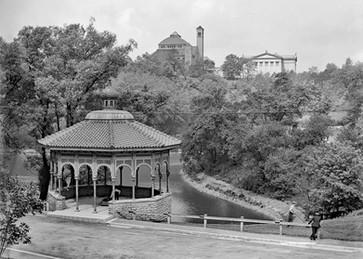 Spring House Pavilion in Eden Park, Cincinnati, OH