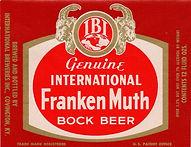 IBI Frankenmuth Bock Beer, Covington, 7%
