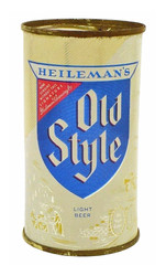 Heileman's Old Style Beer12 oz Beer Can.