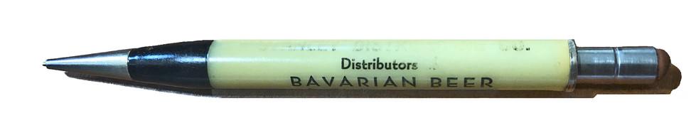 Bavarian Beer Mechanical Pencil, Bavarian Brewing Co., Covington, KY