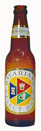 12 oz. Bottle, Bavarian's Select Beer, Covington, KY