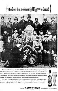 Bavarian Brewing Co., Covington, KY.  1902 picture of workers.
