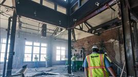 Fourth Floor, of former Jillian's & the Bavarian Brewery, Covington, KY.