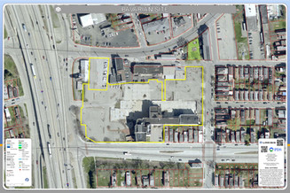 Bavarian Brewery Site, Covington, KY in 2015.