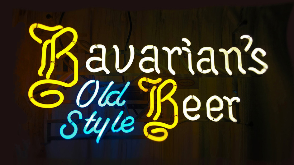 Bavarian's Old Style Neon Sign, No Dashes, Covington, KY.