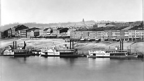 1848. Plate 2, A Daguerreotype View of Cincinnati by Fontayneand Porter from Newport, KY.