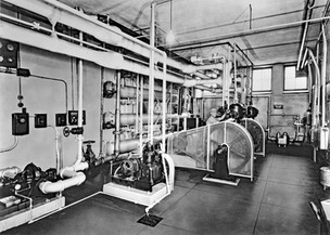 Refrigeration Machinery, Bavarian Brewing Co., Covington, KY 1940s