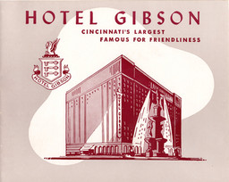 Photo Jacket from the Hotel Gibson, Cincinnati, OH