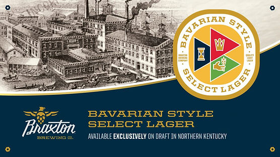 Bavarian Style Select Lager. Bavarian Brewing Co. Picture, Covington, KY c. 1900.