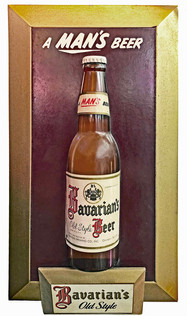 Bavarain's Old Style Beer Small Decorative Sign, Covington, KY