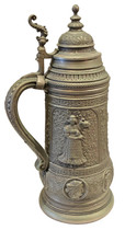 Pewter Stein 4.0 Liters (15 inches tall).