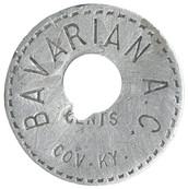 Bavarian A.C. token Early 1900s Side 1 -