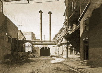 Twin Stacks, Bavarian Brewing Co., Covington, KY  c. 1900