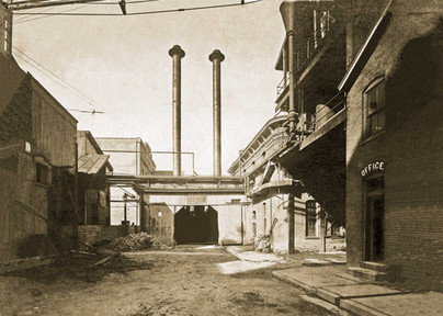 Twin Stacks, Bavarian Brewing Co., Covington, KY  c. 1900