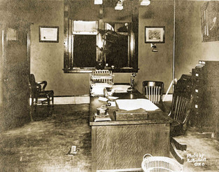 Bavarian Brewing Co. Executive Office, c. 1911.