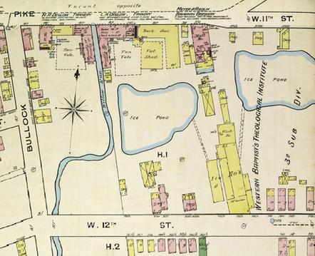 1886 Sanborn Ins. Map Covington, KY. Pg. 27.