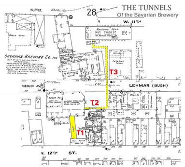 The Bavarian Brewery Tunnel System, Covington, KY