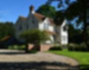 house, drive, driveway, tree, steps, lawn, garden