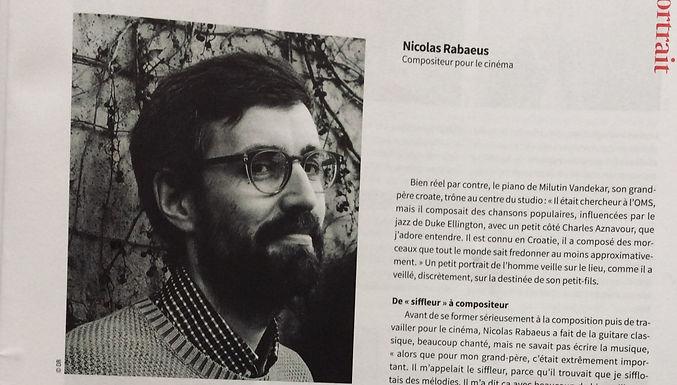 """Article in """"Ciné Bulletin"""""""