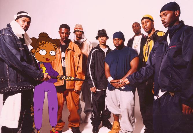 90's Poster - Suzi x Wu-Tang