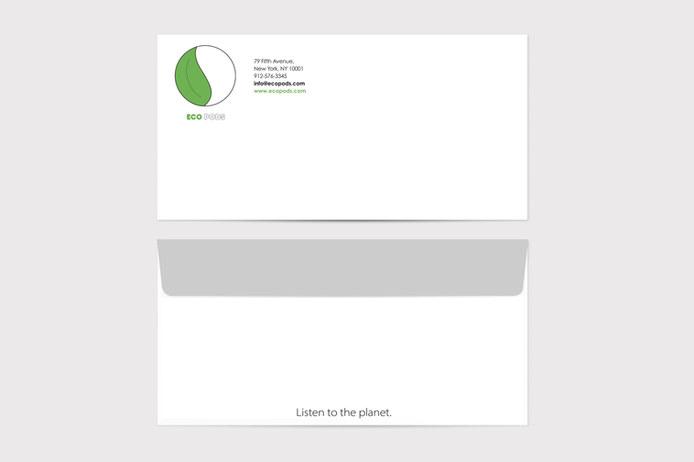 Eco Pods Envelope