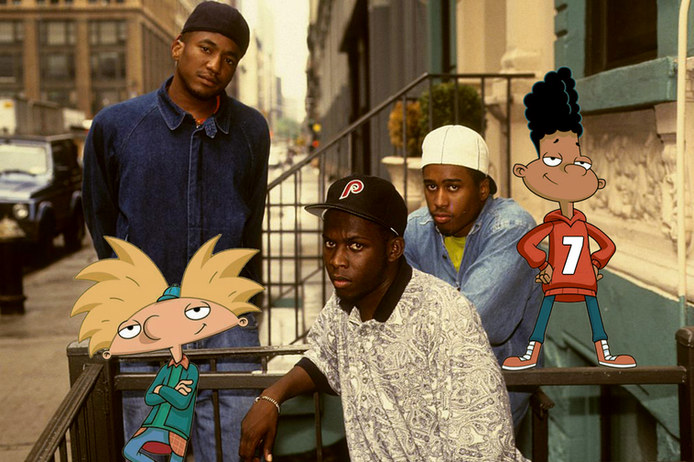 90's Poster - Hey Arnold x ATCQ