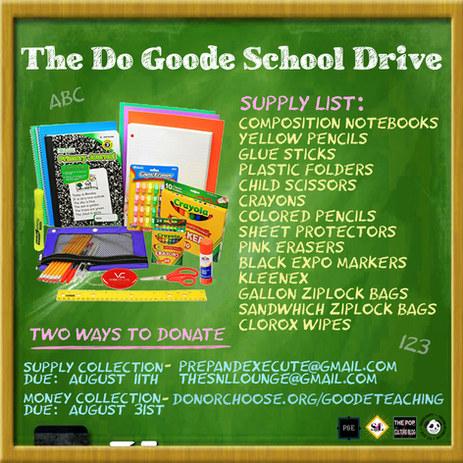 School Drive Flyer