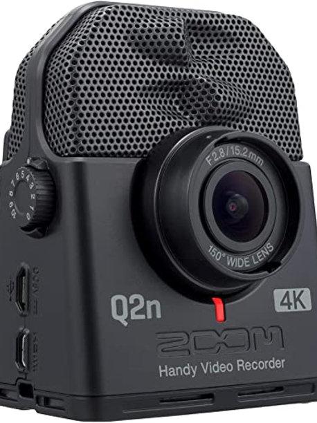 Zoom Q2n-4k Videocamera con Microfono