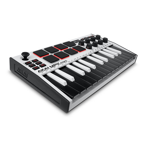 Akai MPK Mini MK3 White Edition