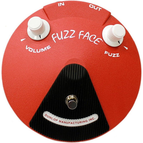 Dunlop Fuzz Face Band of Gypsy's JHF3