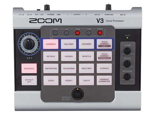 Zoom V3 Multieffetto Voce