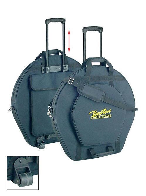 Boston CYB-600 Custodia per piatti 22''+14'' 20mm Con Ruote