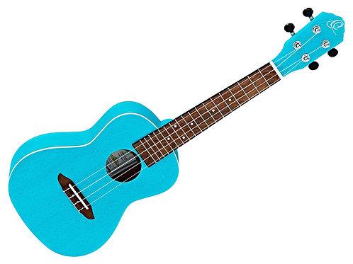 Ortega RULAGOON Ukulele Concert Blue Lagoon