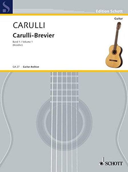Carulli-Brevier Volume 1 Ed. Schott