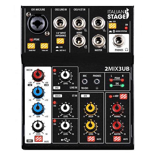 Italian Stage 2MIX3UB 1 Microfonico