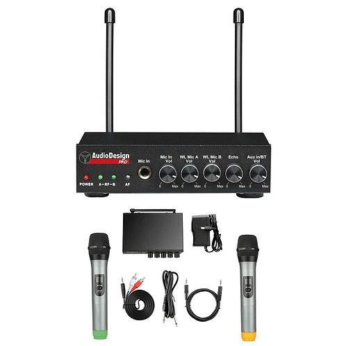 Audio Design PMU 502M Centralina Mixer con Microfoni