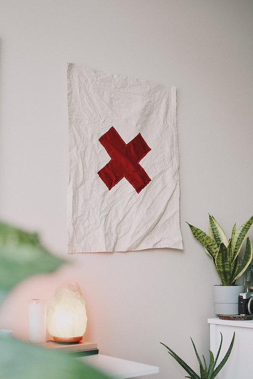Large X Flag