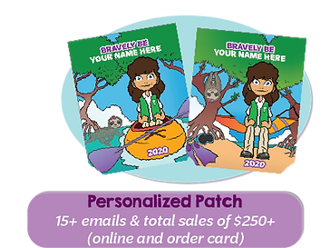 Patches_Incentives_15 Emails + $250 Item