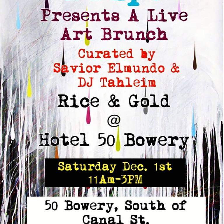 Rice & Gold @ Hotel 50 Bowery
