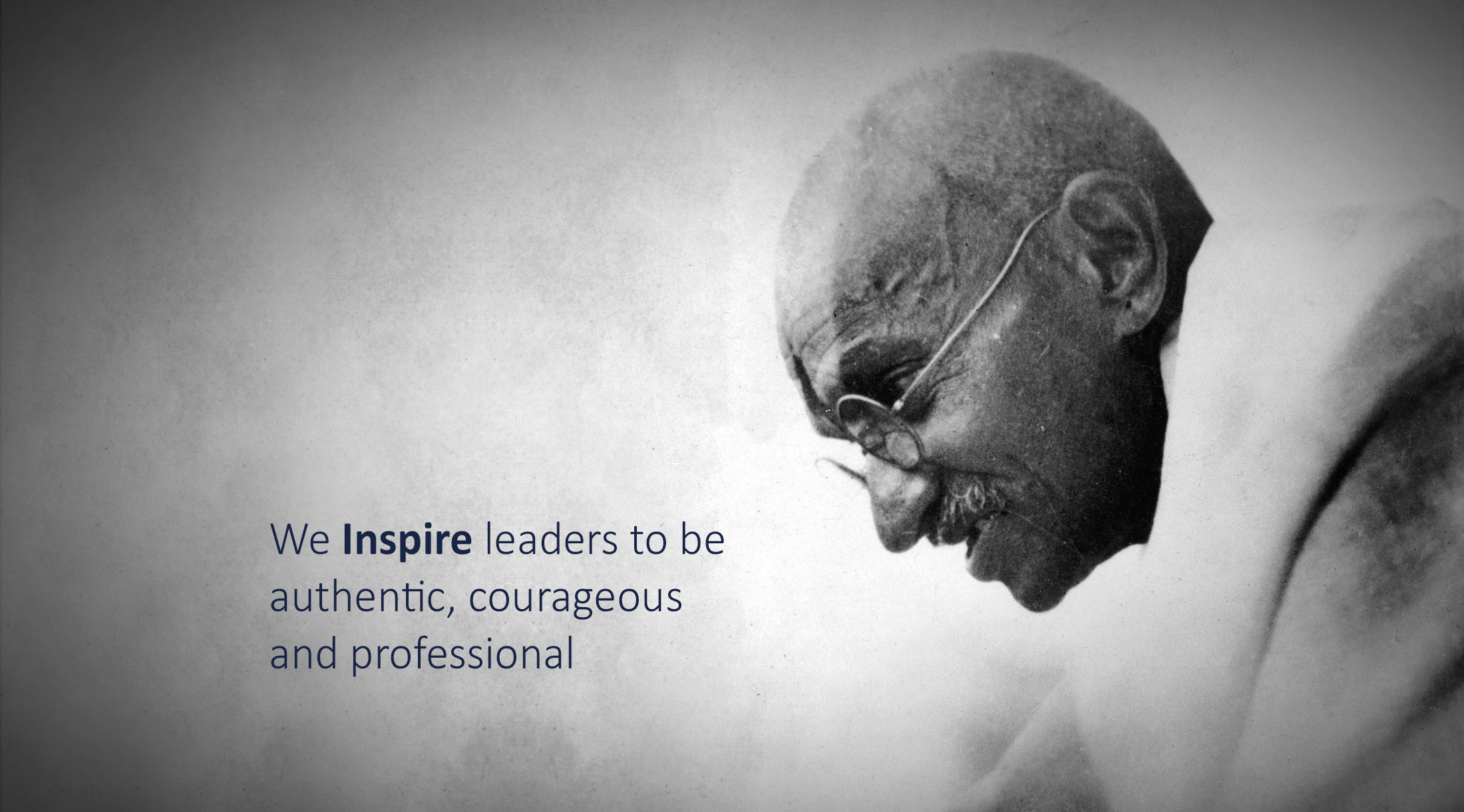 We inspire leaders