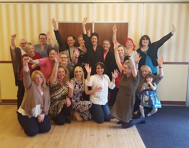Pontefract Breast Cancer Support group members together