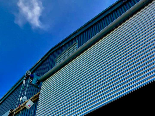shutter repairs - Weather complications - Industrial Doors