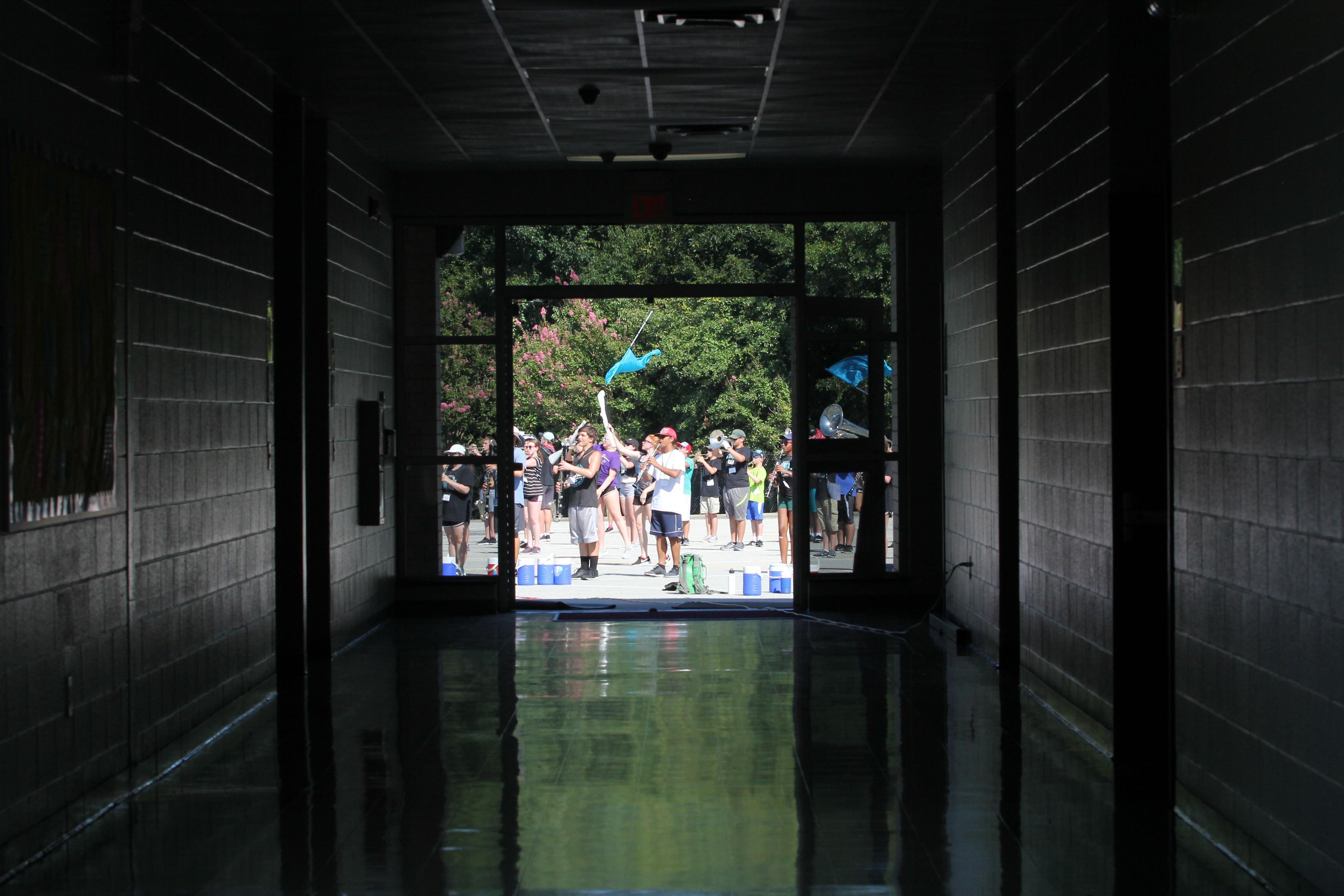 Band Camp Hallway