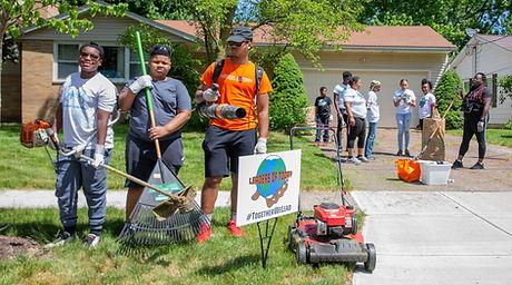 Senior Yard Cleanup 2020