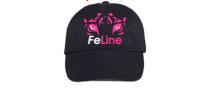 FeLine Rhinestone Cap