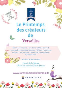 L'Automne des créateurs à Versailles