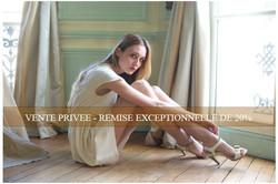 Vente privée au showroom