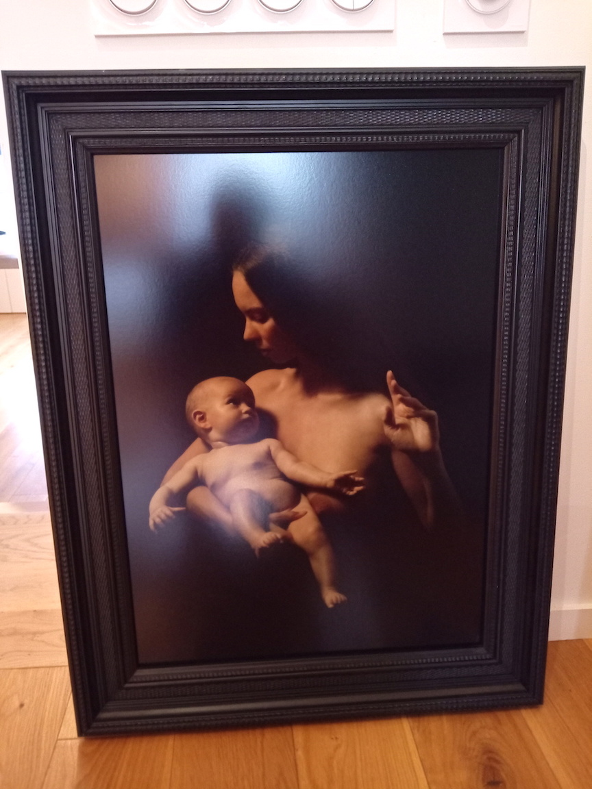Vierge à l'Enfant N1