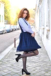 La Jupe en Sac Marion Waterkeyn - créatrice de mode versailles - atelier de couture à versailles - couture - robe - haute couture - sur mesure