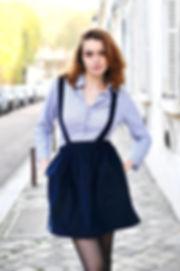 Ma Jupe en Sac de Marion Waterkeyn - Créatrice de Mode à Versailles - Atelier de couture - Jupe - Sac - fait main